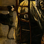 Jean-Baptiste-Camille Corot - The Artists Studio, c. 1855-1860, Detalj 4, NG Washin