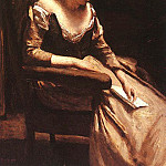 Jean-Baptiste-Camille Corot - The Letter, approx. 1865, oil on wood, Metropolitan Mu