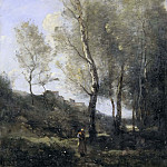 Anthony Van Dyck - Landscape with Poplars