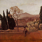 Jean-Baptiste-Camille Corot - Gardens of the Villa d-Este at Tivoli