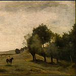 Jean-Baptiste-Camille Corot - View near Epernon, 1850-1860, NG Washington