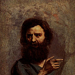 Jean-Baptiste-Camille Corot - Corot Head Of Bearded Man