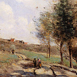 Jean-Baptiste-Camille Corot - Coubron route Montante
