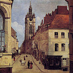 Jean-Baptiste-Camille Corot - The Belfry of Douai