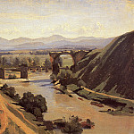 Jean-Baptiste-Camille Corot - The Augustan Bridge at Narni