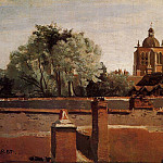 Jean-Baptiste-Camille Corot - Bell Tower of the Church of Saint Paterne at Orleans