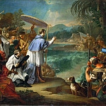 Pier Francesco Mola - The Miracle of Saint Turibio, Archbishop of Lima