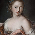 Young Woman with a Wreath of Laurels