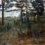Lovis Corinth - Fishermen-s Cemetery at Nidden