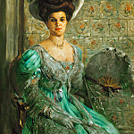 Max Liebermann - Portrait of Countess Finkh