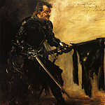 Lovis Corinth - Rudolph Rittner as Florian Geyer First Version