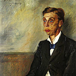 Lovis Corinth - Portrait of Eduard Count Keyserling