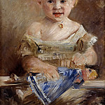 Lovis Corinth - Lotte Roll