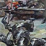 Lovis Corinth - Armour Parts in the Studio