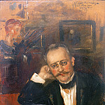 Julius Jacob - Art critic Hans Rosenhagen