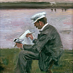 Max Liebermann - The painter Leistikow