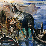 Rudolf Grossmann - The Trojan Horse