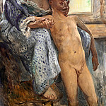 Lovis Corinth - Mothers love