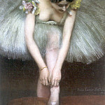 Pierre Carrier-Belleuse - Before the Ballet 1896