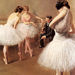 Pierre Carrier-Belleuse - The Ballet Lesson