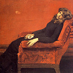William Merritt Chase - The Young Orphan Study of a Young Girl aka At Her Ease