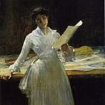 William Merritt Chase - Memories 1885