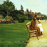 William Merritt Chase - The Park aka In Tompkins Park