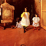 William Merritt Chase - Ring Toss