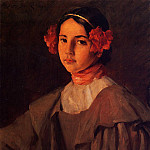 William Merritt Chase - My Daughter Alice