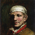 William Merritt Chase - Man with Bandana