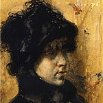 William Merritt Chase - A Portrait Study
