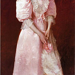William Merritt Chase - Study in Pink aka Portrait of Mrs. Robert P. McDougal