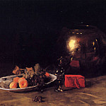 William Merritt Chase - The Big Brass Bowl