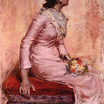 William Merritt Chase - Surprise aka Alice Gerson