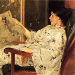 William Merritt Chase - Japanese Print c1888
