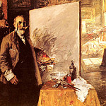 William Merritt Chase - Self Portrait