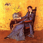 William Merritt Chase - Portrait of Miss Dora Wheeler