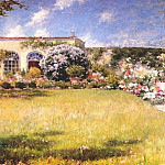 William Merritt Chase - the orangerie c1910