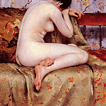 William Merritt Chase - Modern Magdalen