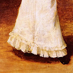 William Merritt Chase - The Tamborine Girl