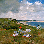William Merritt Chase - Idle hours