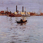 William Merritt Chase - The East River