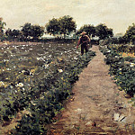 William Merritt Chase - The Potato Patch aka Garden Shinnecock