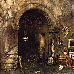 William Merritt Chase - The Antiquary Shop