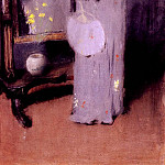 William Merritt Chase - Making Her Toilet