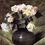 William Merritt Chase - Flowers aka Roses