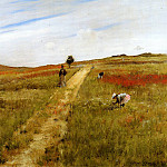 William Merritt Chase - Shinnecock Hills aka Shinnecock Hills Autumn