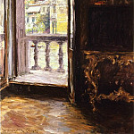 William Merritt Chase - Venetian Balcony