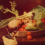 William Merritt Chase - Still Life with Vegetable