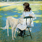 William Merritt Chase - Good Friends